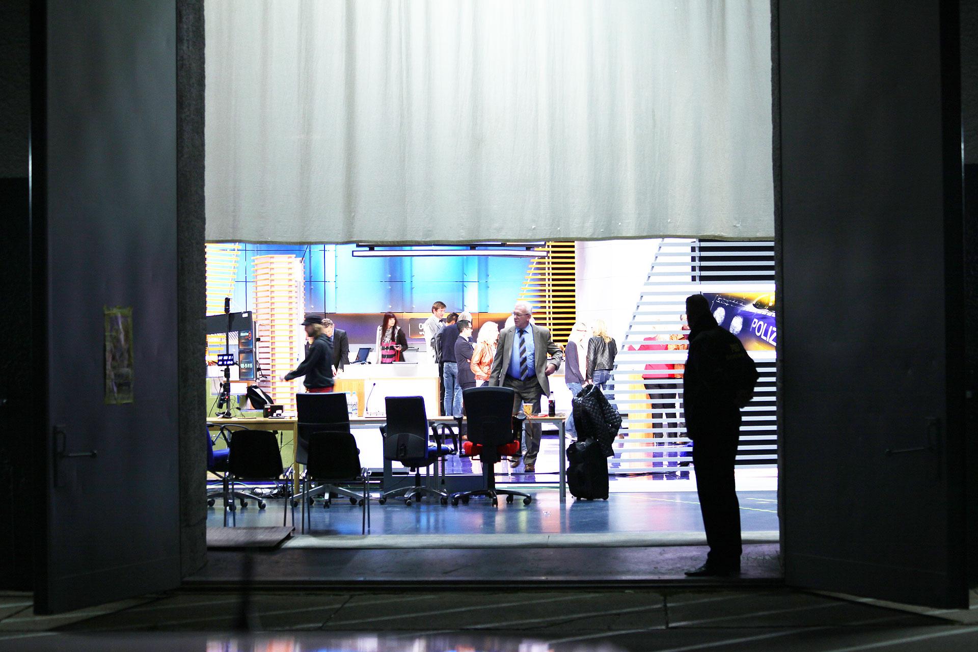 Studio 3 - Nach der Sendung © Marc Haug