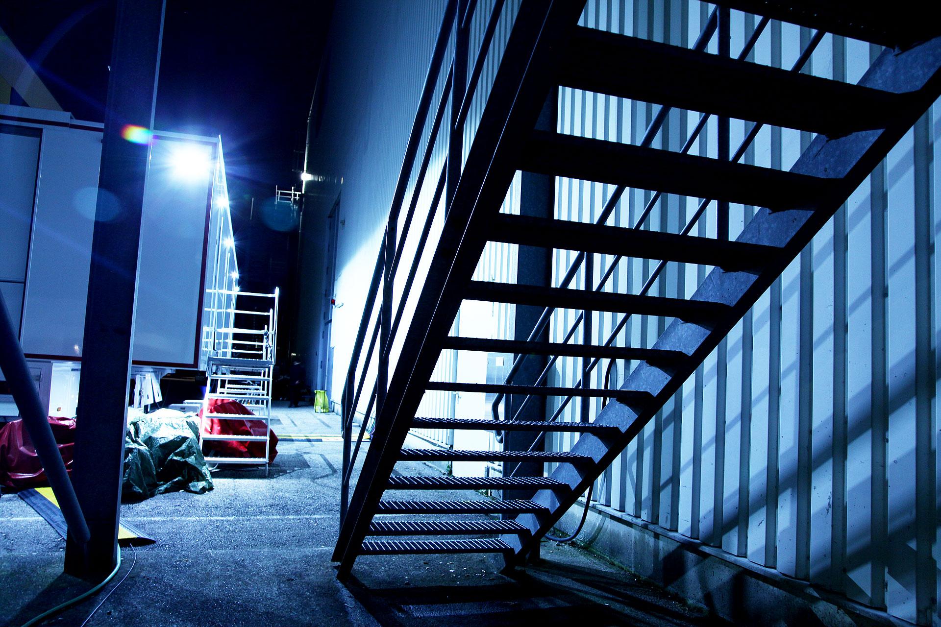 Ü-Wagen vor Studio 9 © Marc Haug